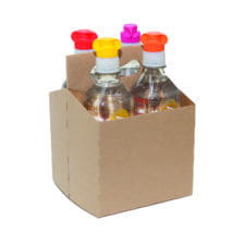 Product: 4 Pack 16 oz bottle carrier, item # CBC-416K
