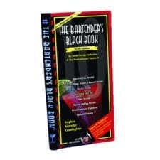 Product: bartender's recipe book; ITEM # BBBK