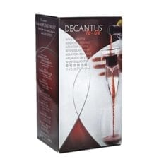 Product: Decantus To-Go Slim Wine Aerator, item # DECWINE