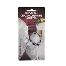Product: Carded Champagne Stopper, item #FCCHAMP