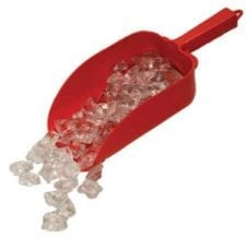 Product: 82 oz. plastic ice scoop ; ITEM# SCOOP