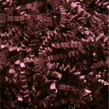 Burgundy Crinkle Cut shredded basket filler