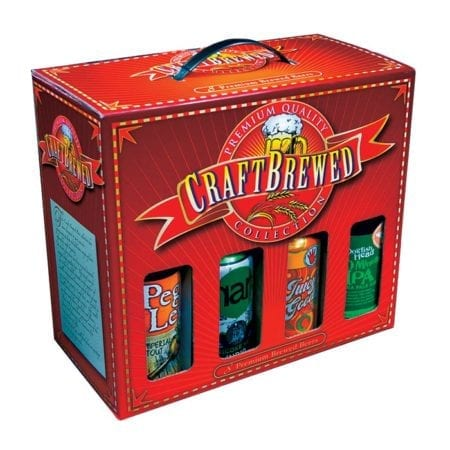 Product: Fillable microbrew gift box, item # MG8