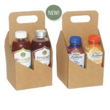 Product: 4 bottle carrier for 375 ml bottles, item # WB375MLK