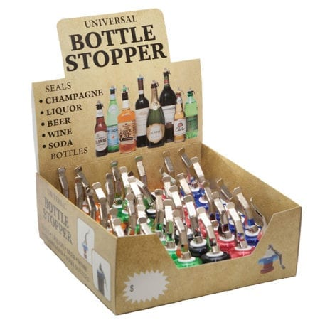 Product: Bottle Stopper Display; ITEM # BS-36