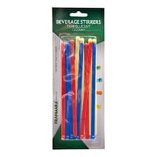 Product: Beverage Stirrers; ITEM # FBEVSTIR