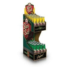 Product: Two tier beer salt display, ITEM # TW2DISP,