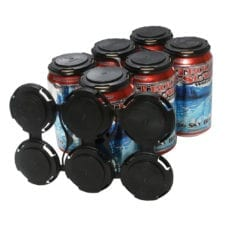 Product: plastic 6 pack can carriers, item # CANCLIP