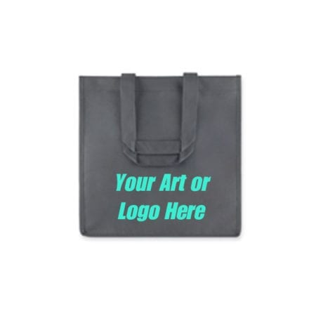 Platinum Gray 6 Bottle Wine Tote Bags