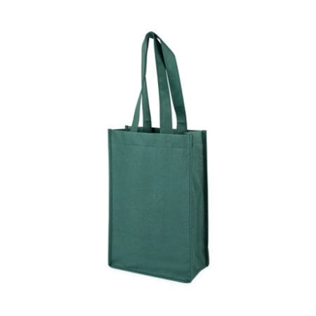Green 2 Bottle Tote