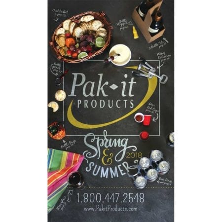 Pak-it Product's current catalog