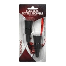 Product: 2 pack flex bottle stoppers, item #FCFLEX
