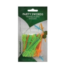 Product: plastic sword picks, item #FSWORD