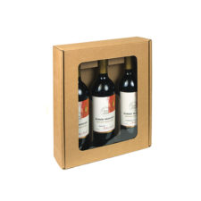 3 Bottle Box with Opening