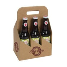 Product: Custom Printed 6 Pack 12 oz. Bottle Totes, item # G6B-KFT-CUSTOM