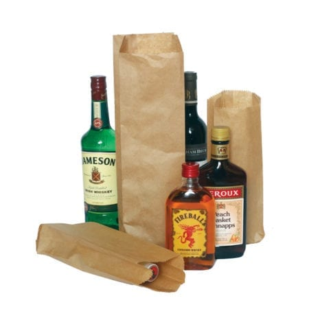Product: Brown Paper Bags, Item # Paper-QT & Paper-PINT
