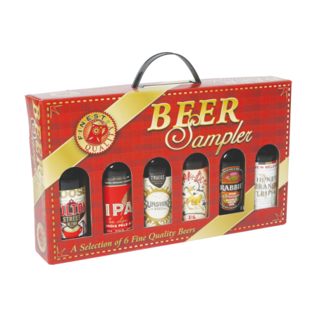 Product: Empty Beer Sampler Gift Box, item # GS6