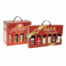 Fillable beer gift box; Item # GS6 & MG8
