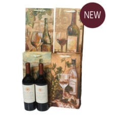 Product: 2 Bottle Gift Bag, Item # MGB-2BTL