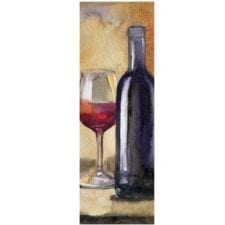 Fine Wine Art Gift Bag