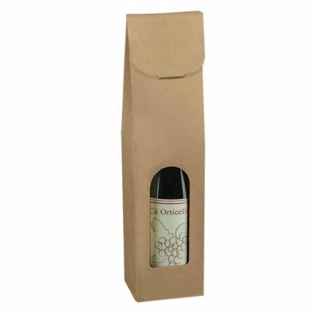 Smooth Kraft 1 bottle carrier