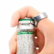 Product: Finger Bottle Opener ; ITEM #BWRING