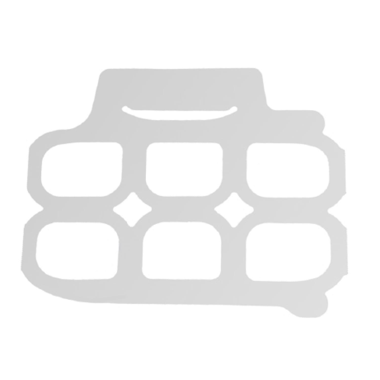 Product: easy side grab 6 pack rings, Item # 6PAKSIDE