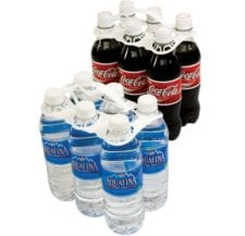 Product: 16 oz - 20 oz 6 Pack Plastic Bottle Carrier, item # BSC-626