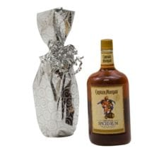 Product: liquor bottle Mylar gift bags, item # MB5