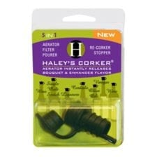 Product: Haley's Corker 5-in-1 Wine Gadget Item #: CORKER
