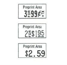 Product: labels for Monarch  pricing gun #1110; ITEM # MONLAB1