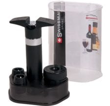 Product: Swissmar wine and champagne dual function pump; ITEM # SMWCP