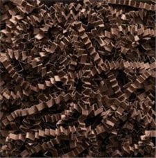 Chocolate Crinkle Cut shredded basket filler