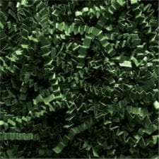 Forest Green Crinkle Cut shredded basket filler