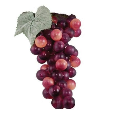 Product: Artificial red grape clusters, Item # GRAPES