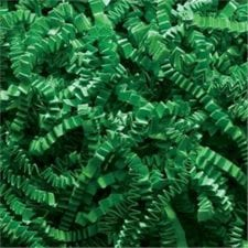 Green Crinkle Cut shredded basket filler