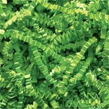 Lime Green Crinkle Cut shredded basket filler