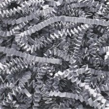 Slate Gray Crinkle Cut Shredded basket filler